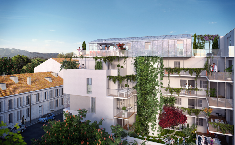 Nos programmes lucia grand t2 loi pinel avec terrasse for Terrasse marseille immobilier